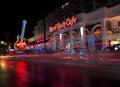 Hard Rock Cafe. Royalty Free Stock Photo