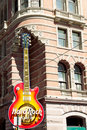 Hard Rock Cafe in Philadelphia downtown Stock Image