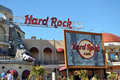 Hard Rock Cafe in Universal Orlando Stock Images