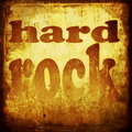 Hard rock word music background Royalty Free Stock Photography