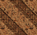 Hard tyre tracks in dirt mud Royalty Free Stock Photography
