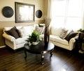 Hard wood flooring i Royalty Free Stock Photo