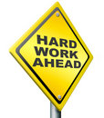 Hard work ahead Royalty Free Stock Images