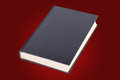 Hardcover book books in a red background Royalty Free Stock Photo