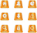 Harddisc Icons Royalty Free Stock Photo