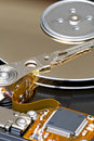 Harddisk Component Royalty Free Stock Photography