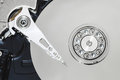 Harddisk inside of the computer Royalty Free Stock Image