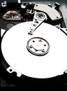 Harddrive computer hard drive in high contrast Royalty Free Stock Photo