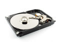 Harddrive no write background Royalty Free Stock Photo