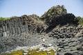 Hardened lava of the dormant volcano vietnam Royalty Free Stock Photo