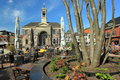 Hardewijk the city town hall in harderwijk netherlands Royalty Free Stock Photo