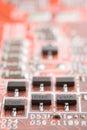 Hardware macro Royalty Free Stock Photo