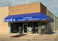 Hardware store front view lord s established in privately held company incorporated in nebraska prime example of long existing Stock Photos