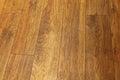 Hardwood floor dark brown parquet tiles Stock Photo