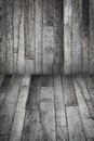 Hardwood floor grey wooden bangroung Royalty Free Stock Photography