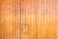 Hardwood flooring or paneling background with beautiful mellow brown sealed planks with woodgrain providing a natural interor Royalty Free Stock Image