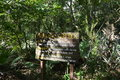 Hardwood hammock a sign posted in turkey creek sanctuary in palm bay florida a is a tropical forest without pine trees Stock Images
