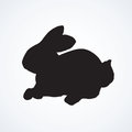Hare. Vector drawing
