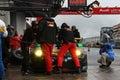 Haribo Porsche refueling. Royalty Free Stock Photo