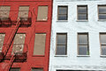 Harlem fire escape Royalty Free Stock Images