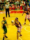 Harlem Globetrotters in action - Italian tour 2010 Stock Photo