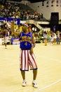 Harlem Globetrotters Basketball - Flight Time Lang Royalty Free Stock Photo