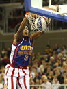 Harlem Globetrotters in Budapest Stock Photography