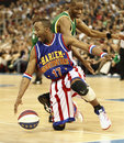 Harlem Globetrotters in Budapest Royalty Free Stock Photography