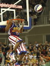 Harlem Globetrotters in Budapest Royalty Free Stock Photo