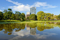 Harlem Meer in the Summer Stock Photography