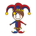 Harlequin character icon image