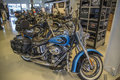 Harley davidson softail heritage model flhtc photo is shot in an authorized shop in sarpsborg norway one day in Stock Images