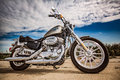 Harley-Davidson - Sportster 883 Low Royalty Free Stock Photo