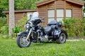 Harley-Davidson Trike Royalty Free Stock Photo