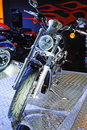 Harley motor bike Royalty Free Stock Photo