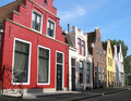 Harlingen Houses.1 Lizenzfreie Stockbilder