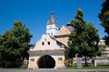 Harman Fortified Church Stock Photo