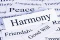 Harmony Concept