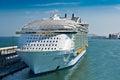 Harmony of the Seas Ship Royalty Free Stock Photo