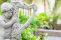 Harp Cupid Royalty Free Stock Photo