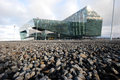 Harpa conference and concert hall reykjavik iceland the building the project designed by henning larsen architects has won in the Stock Photography