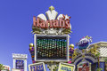 Harrah's Hotel and Casino sign on the famous Strip in Las Vegas, Nevada Royalty Free Stock Photo