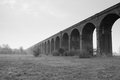Harringworth or welland viaduct northamptonshire in great britain first brick laid in march and was completed in with arches in Stock Photography