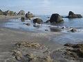 Harris Beach at Brookings, Oregon Stock Images