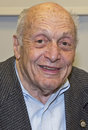"Harry ettlinger known as a ""monuments man "" appeared at a screening of a short film ""i was there "" the story of Royalty Free Stock Photography"