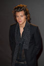Harry styles arrives for the british fashion awards at the colliseum st martin s lane london picture by dave norton featureflash Stock Photo