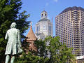 Hartford Skyline Stock Photo
