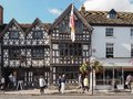 Harvard House in Stratford upon Avon Royalty Free Stock Photo