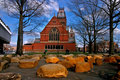Harvard-Quadrat, USA Stockbilder