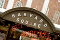 Harvard Square Royalty Free Stock Photo